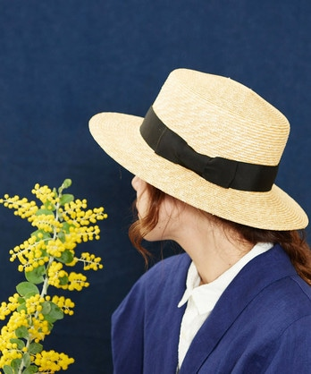 ○麦わら カンカン帽