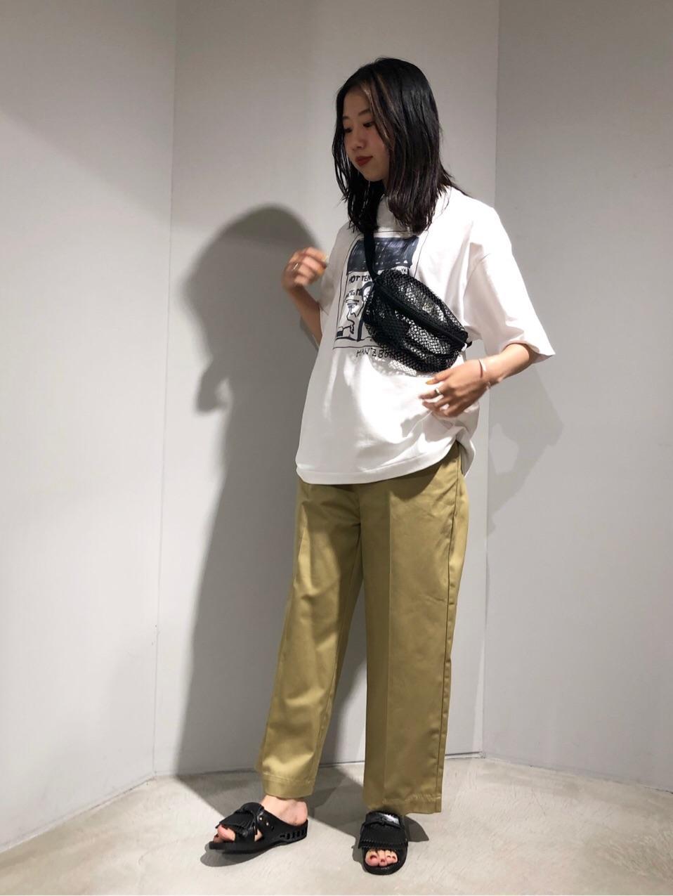 caph troupe 代々木上原路面 身長:166cm 2019.06.16
