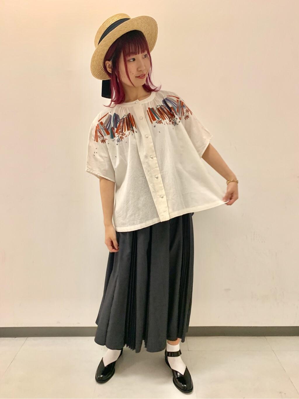 l'atelier du savon 広島パルコ 身長:157cm 2019.05.28