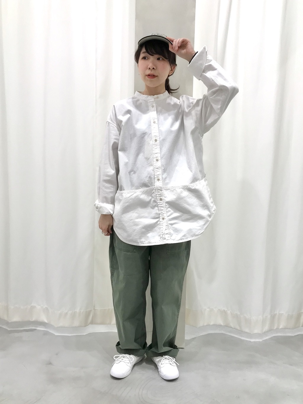 AMB SHOP PAR ICI CHILD WOMAN,PAR ICI ルミネ横浜 身長:154cm 2020.04.11