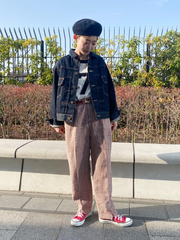 - CHILD WOMAN CHILD WOMAN , PAR ICI 東京スカイツリータウン・ソラマチ 身長:150cm 2021.03.25