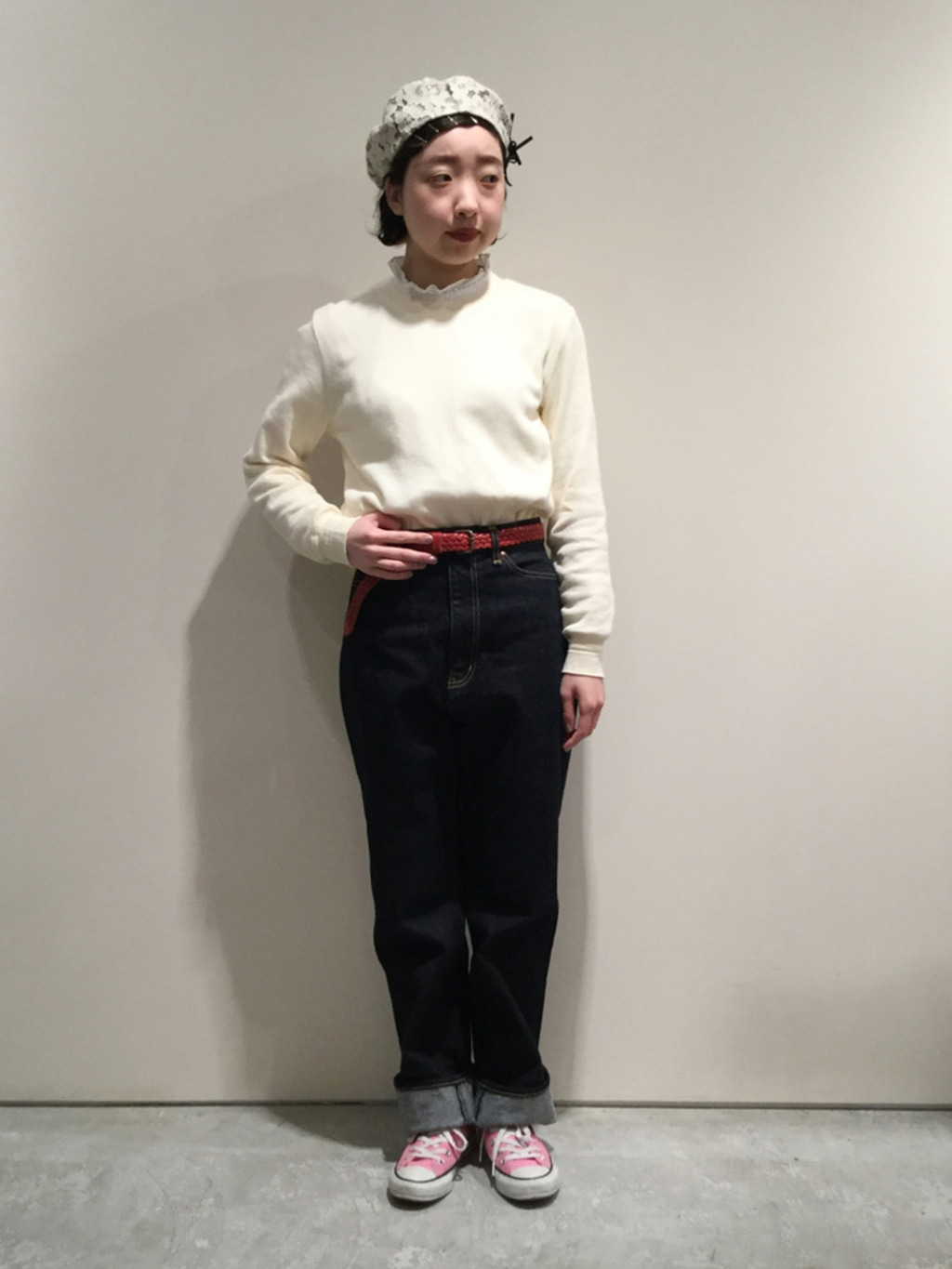 AMB SHOP CHILD WOMAN CHILD WOMAN , PAR ICI ルミネ横浜 身長:158cm 2020.04.10
