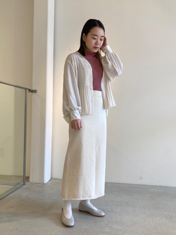 note et silence. 京都路面 身長:159cm 2021.02.19