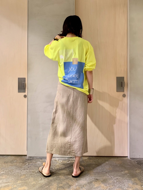 note et silence. ルミネ新宿 身長:169cm 2020.08.05