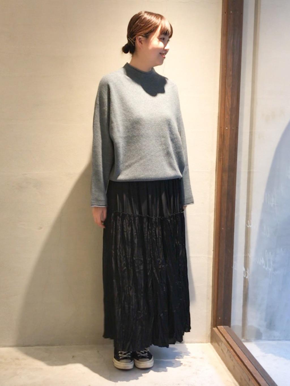 yuni 神戸路面 身長:166cm 2020.10.12