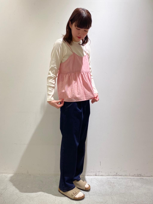 yuni 神戸路面 身長:166cm 2021.03.26