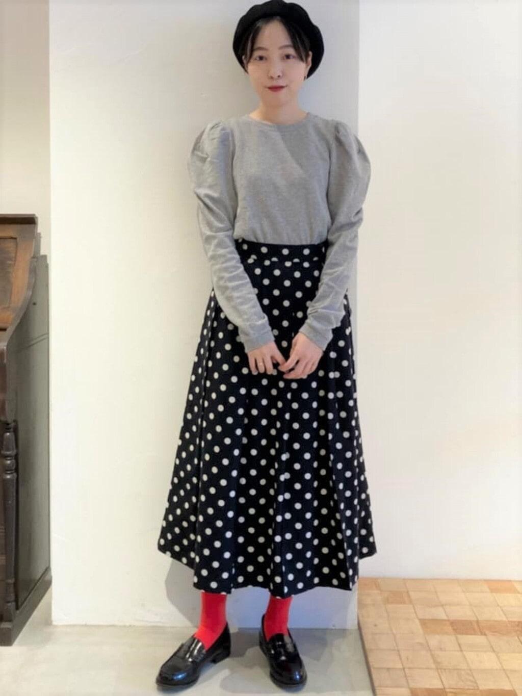 Dot and Stripes CHILD WOMAN 名古屋栄路面 身長:161cm 2021.08.19