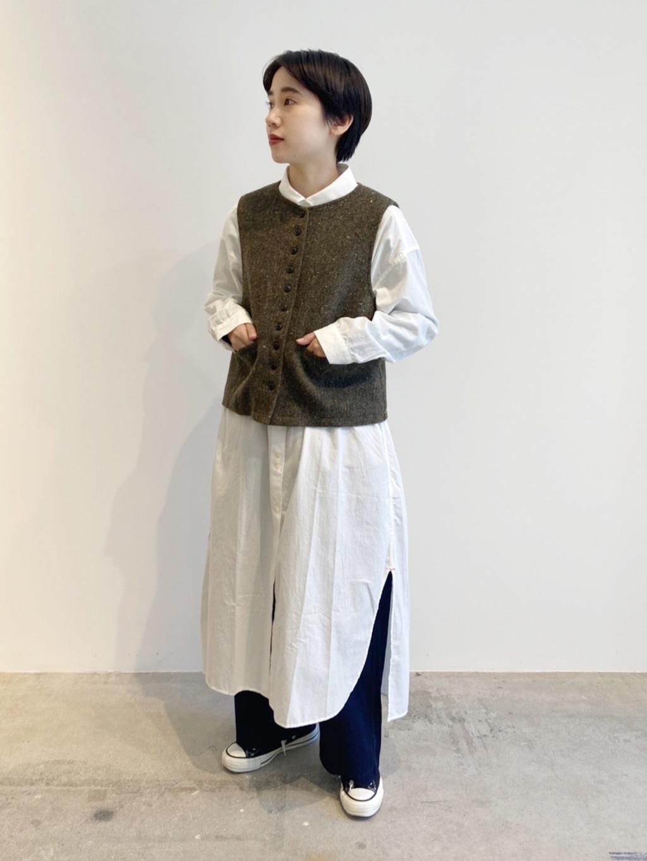 - PAR ICI FLAT AMB 名古屋栄路面 身長:156cm 2020.10.28
