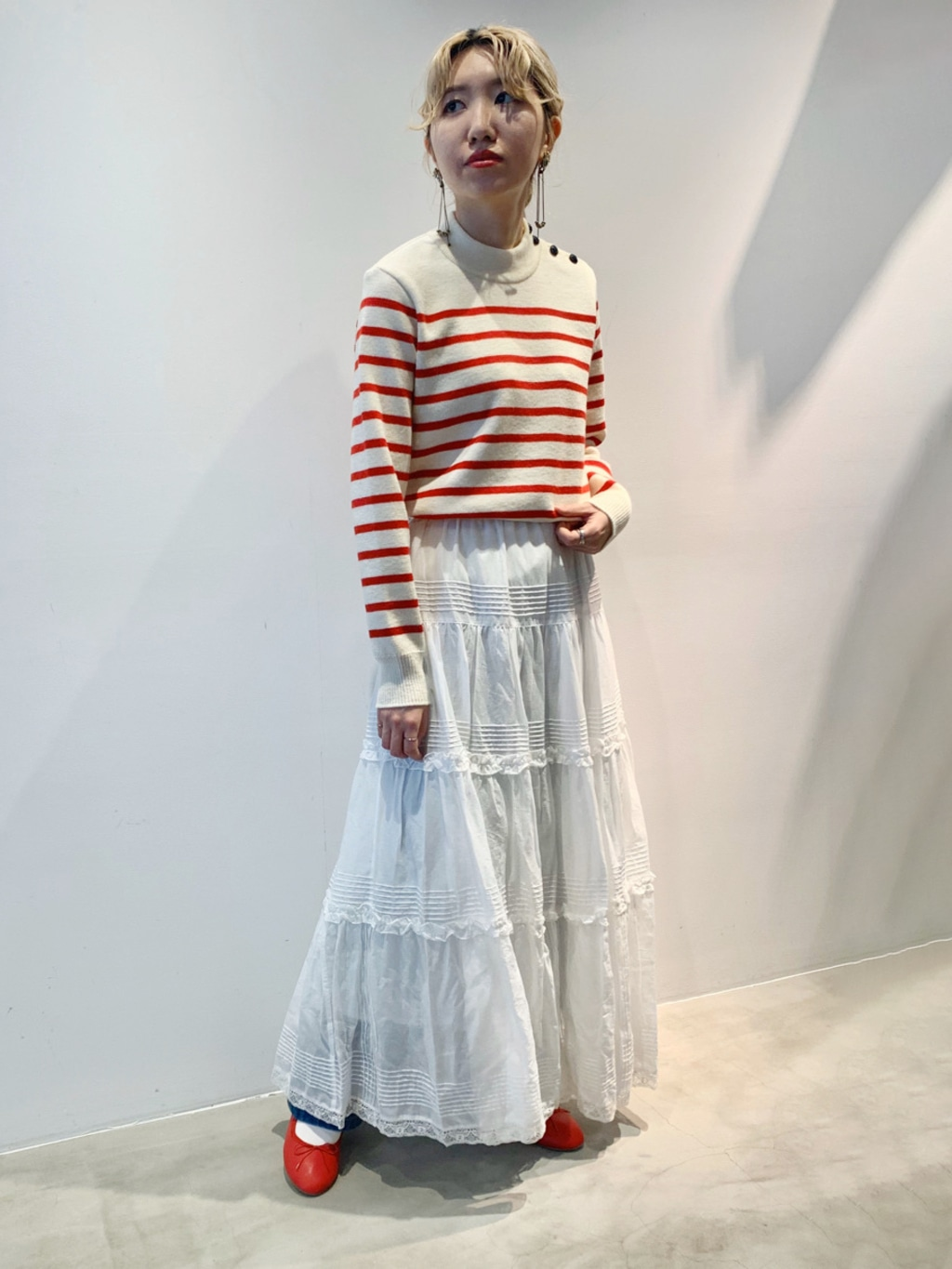 Dot and Stripes CHILD WOMAN ラフォーレ原宿 身長:160cm 2020.11.26