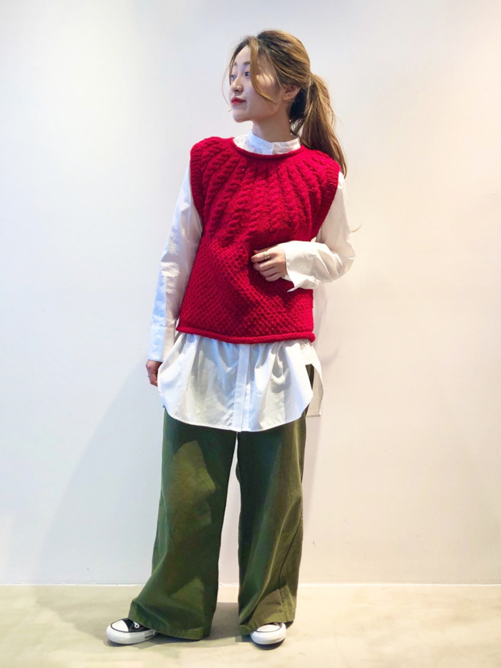 Dot and Stripes CHILD WOMAN ラフォーレ原宿 身長:153cm 2020.10.21