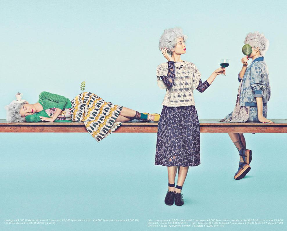 l'atelier du savon|l'atelier du savon 2015 spring/summer カタログ画像