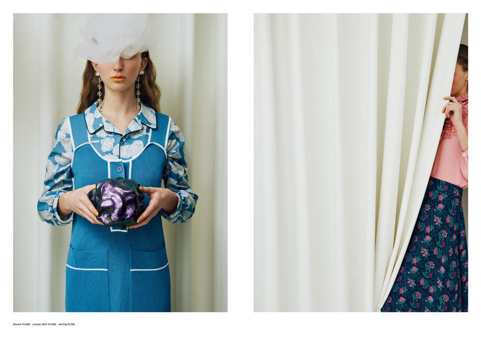 l'atelier du savon|l'atelier du savon 2018 spring/summer カタログ画像
