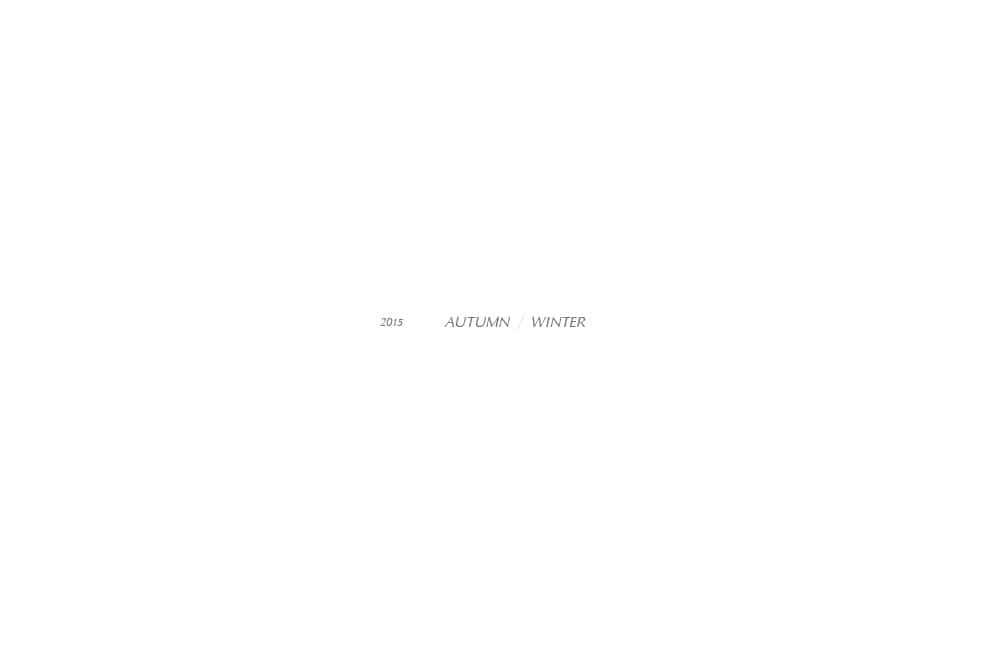 bulle de savon|bulle de savon 2015 autumn/winter カタログ画像