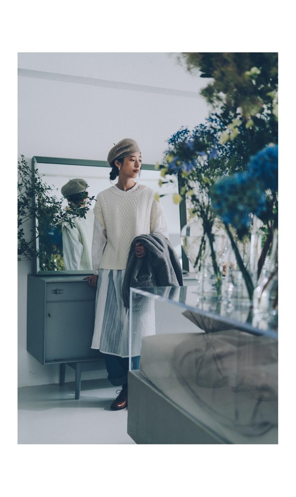 bulle de savon|bulle de savon 2019 autumn / winter カタログ画像