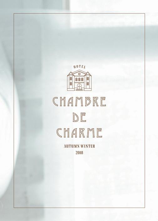 chambre de charme|chambre de charme 2018 autumn/winter カタログ画像