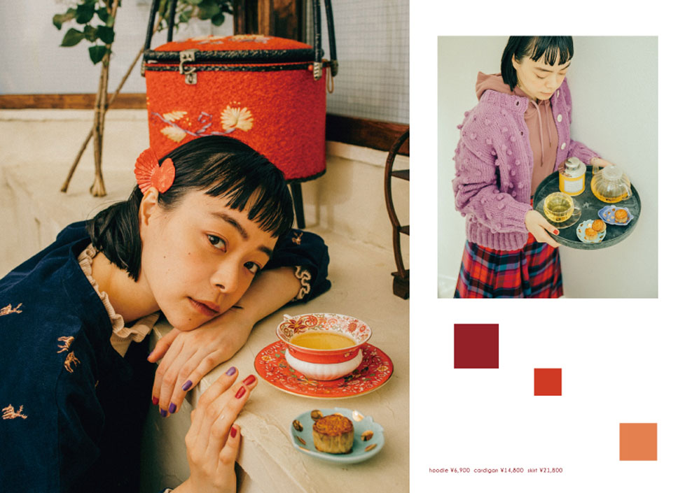Dot & Stripes CHILD WOMAN|Dot & Stripes CHILD WOMAN 2019 autumn/winter カタログ画像
