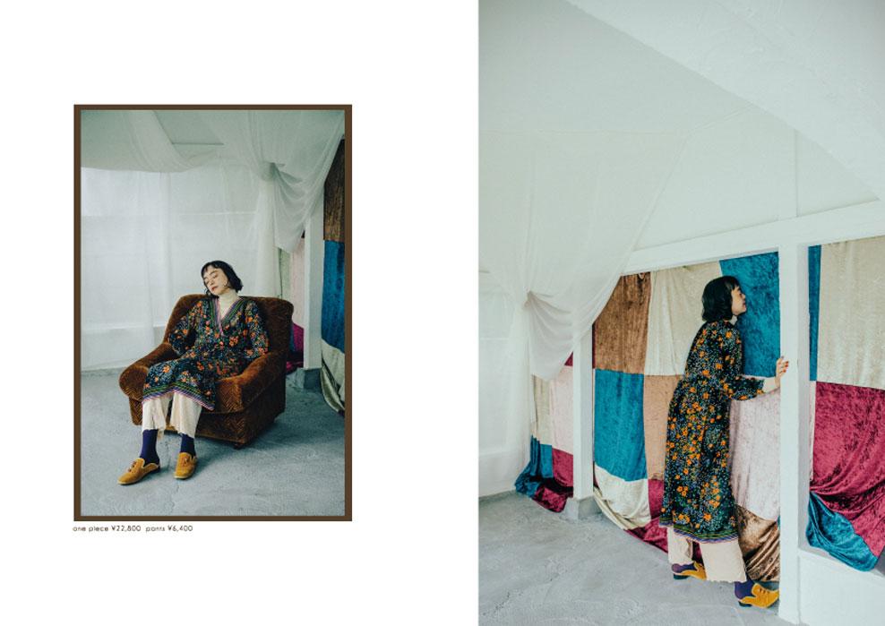 Dot & Stripes CHILD WOMAN|Dot & Stripes CHILD WOMAN 2019 autumn/winter カタログ画像