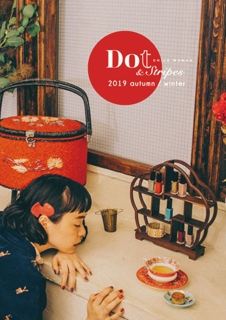 Dot & Stripes CHILD WOMAN|Dot & Stripes CHILD WOMAN 2019 autumn/winter