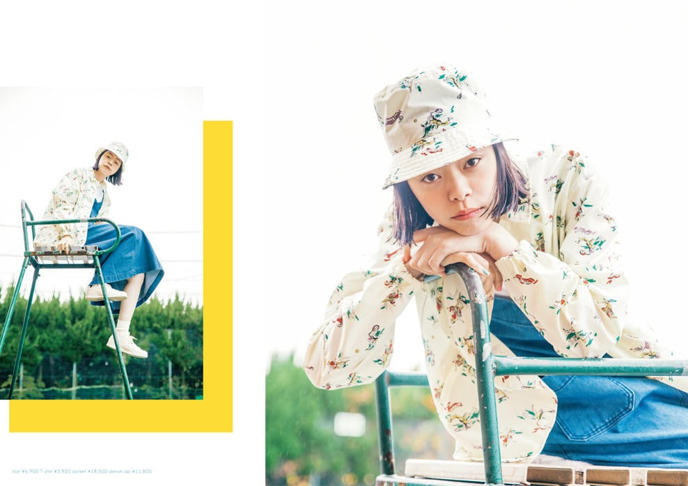 Dot & Stripes CHILD WOMAN|Dot & Stripes CHILD WOMAN 2019 spring/summer カタログ画像