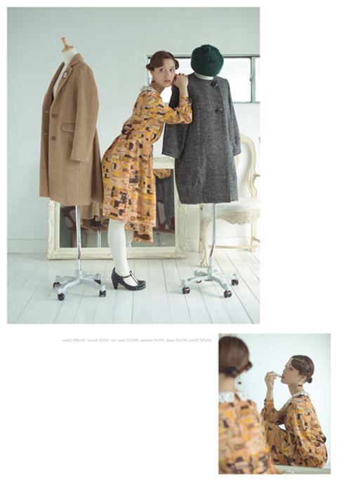 Dot & Stripes CHILD WOMAN|Dot & Stripes CHILD WOMAN 2013 autumn/winter カタログ画像