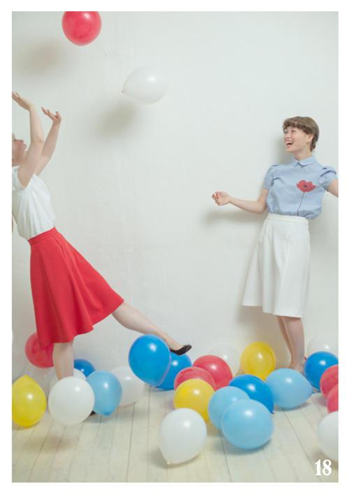 Dot & Stripes CHILD WOMAN|Dot & Stripes CHILD WOMAN 2014 spring/summer カタログ画像