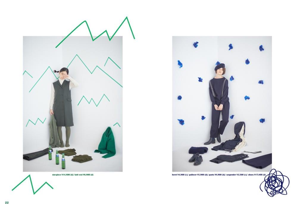Dot & Stripes CHILD WOMAN|Dot & Stripes CHILD WOMAN 2015 autumn/winter カタログ画像