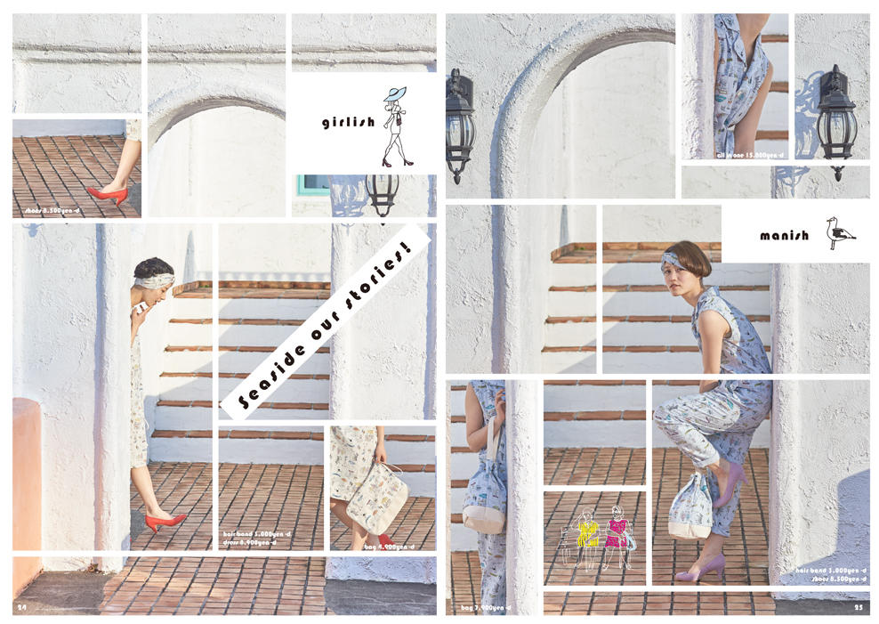 Dot & Stripes CHILD WOMAN|Dot & Stripes CHILD WOMAN 2015 spring/summer カタログ画像