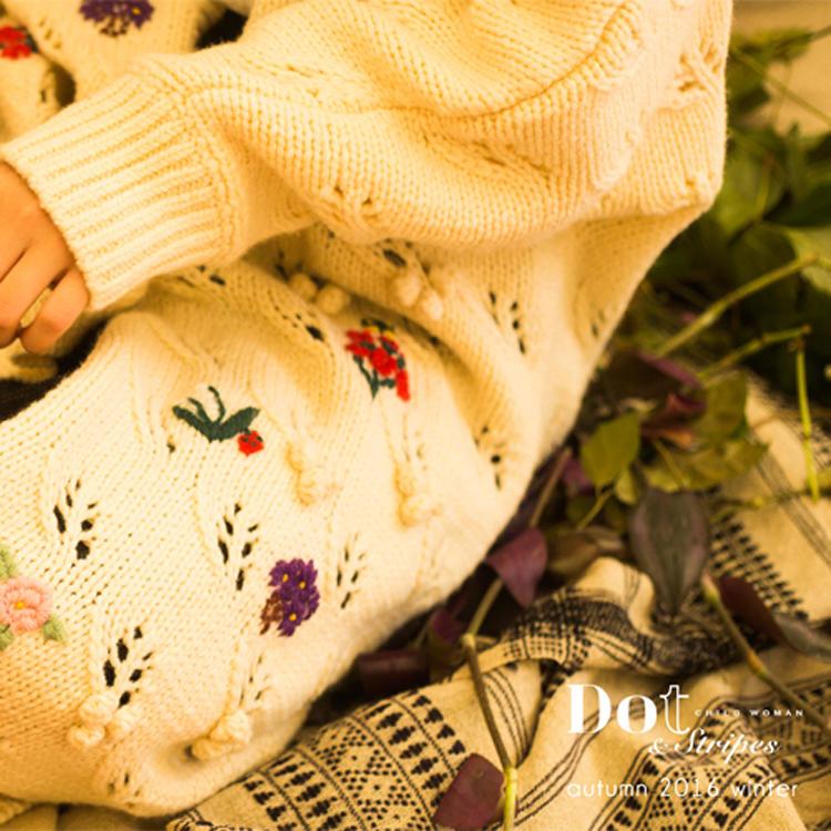 Dot & Stripes CHILD WOMAN|Dot & Stripes CHILD WOMAN 2016 autumn/winter