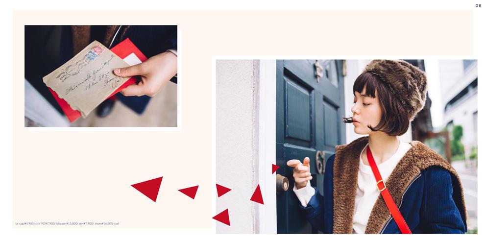 Dot & Stripes CHILD WOMAN|Dot & Stripes CHILD WOMAN 2017 autumn/winter カタログ画像