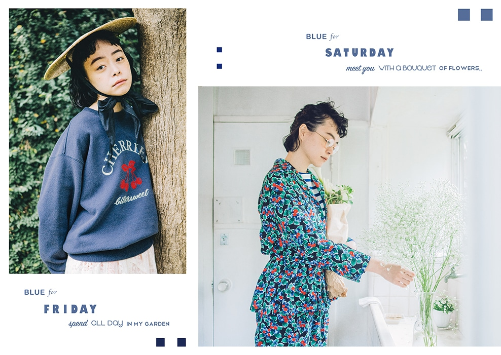 Dot & Stripes CHILD WOMAN|Dot & Stripes CHILD WOMAN 2020 SPRING SUMMER   カタログ画像