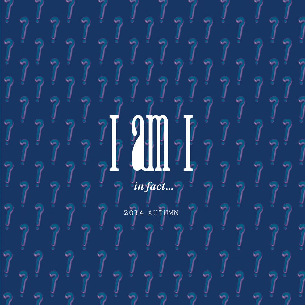 I am I|IAMI 2014 autumn/winter カタログ画像