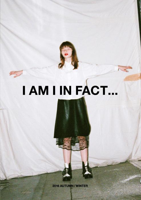 I am I|IAMI 2016 autumn/winter カタログ画像
