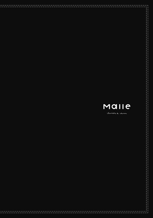 Malle chambre de charme|Malle 2020 spring collection カタログ画像