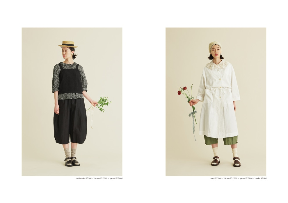 Malle chambre de charme|Malle 2020 summer collection カタログ画像