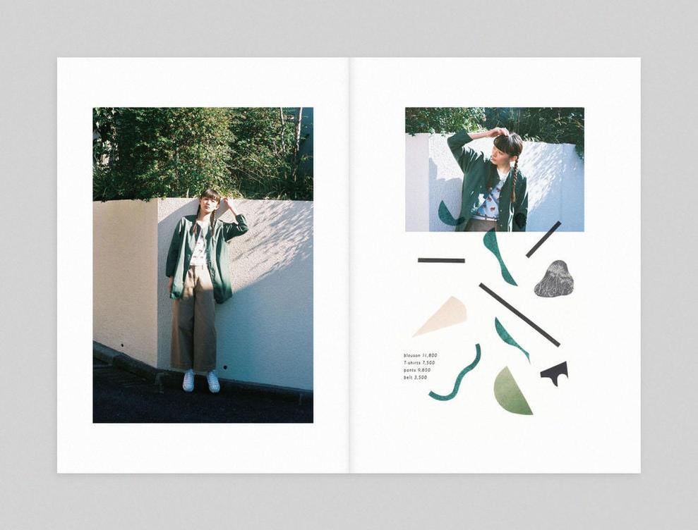 PAR ICI|PAR ICI 2016 spring/summer カタログ画像