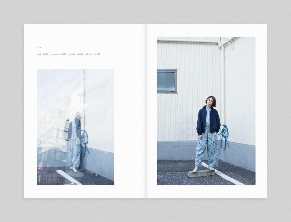 PAR ICI|PAR ICI 2017 spring/summer カタログ画像