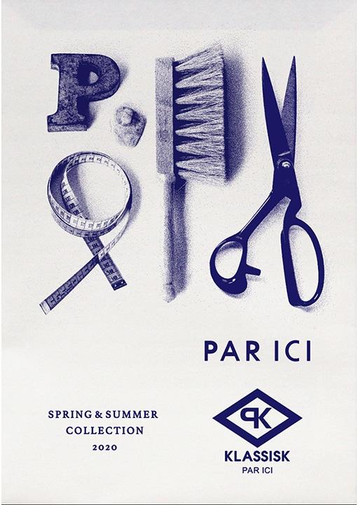 PAR ICI|PAR  ICI 2020 SPRING & SUMMER  COLLECTION カタログ画像
