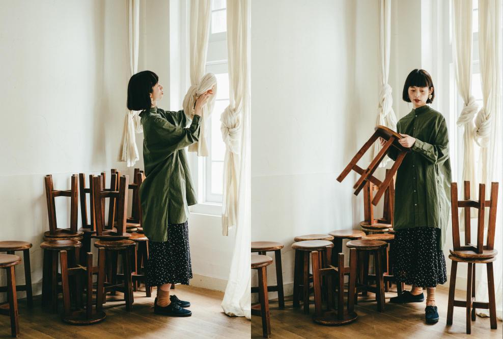 yuni|yuni 2017 autumn/winter カタログ画像
