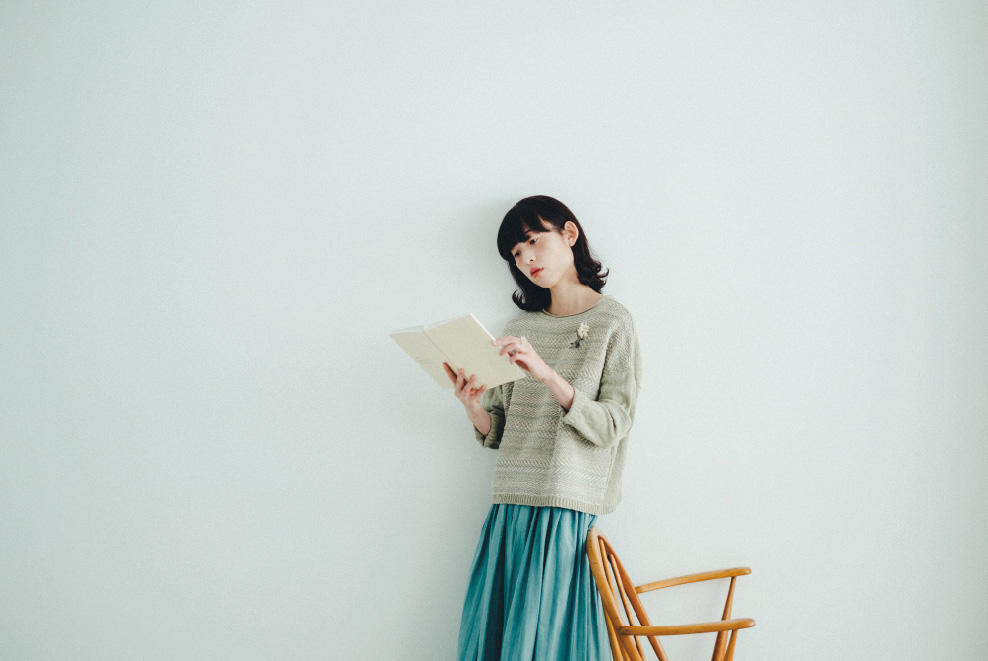 yuni|yuni 2018 spring/summer カタログ画像