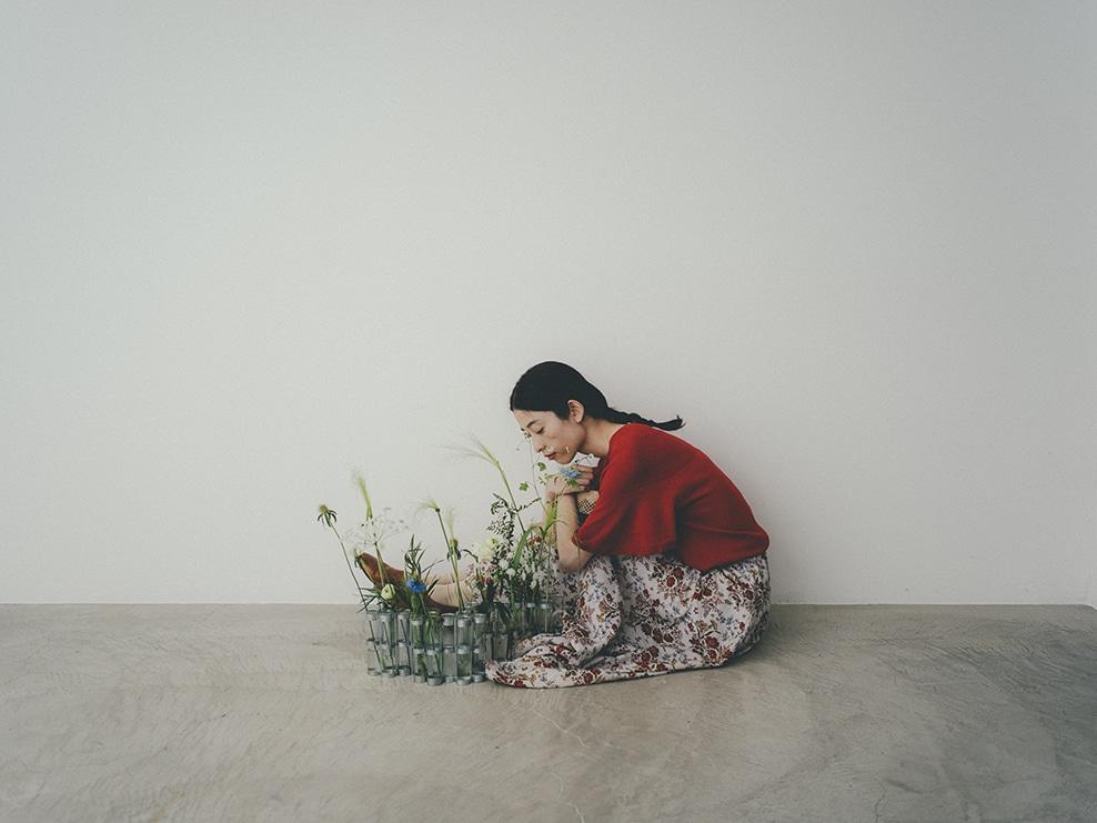 yuni|yuni 2020 spring / summer カタログ画像