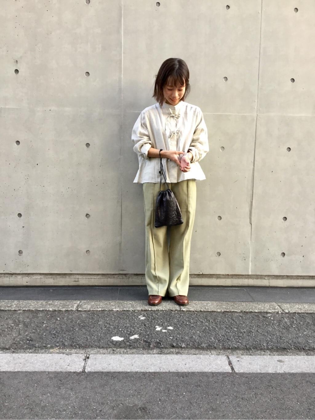 l'atelier du savon 代官山路面 身長:150cm 2020.02.26