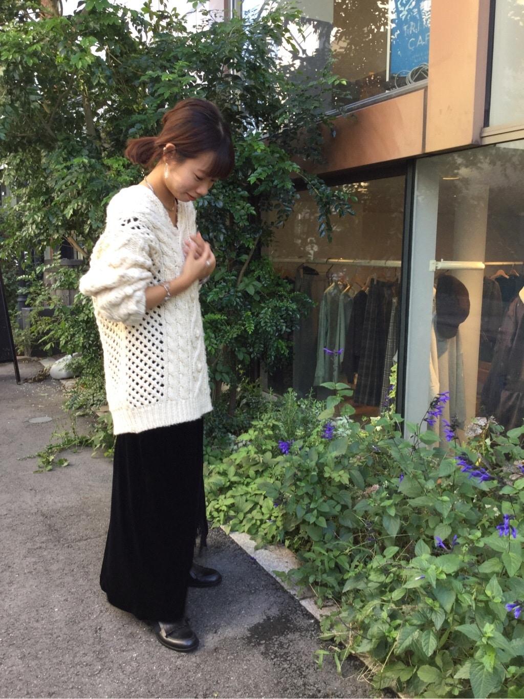l'atelier du savon 代官山路面 身長:150cm 2019.11.13