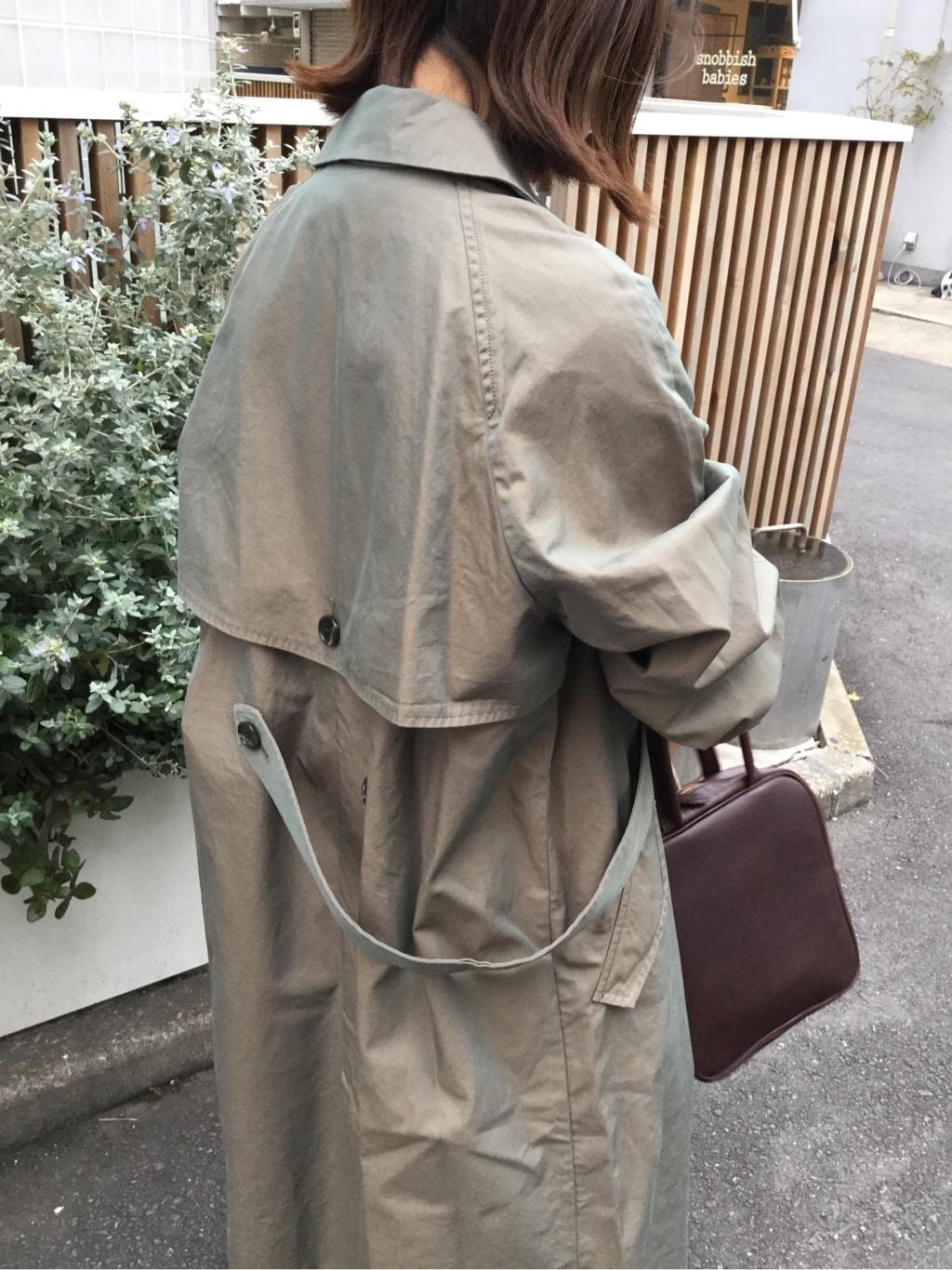 l'atelier du savon 代官山路面 身長:150cm 2020.03.31