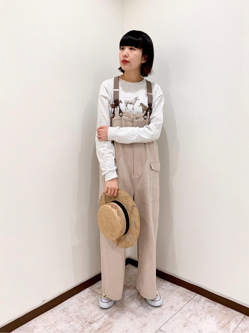 l'atelier du savon 新宿ミロード 身長:165cm 2020.04.06