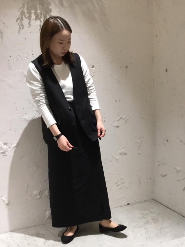 chambre de charme 京都路面 身長:155cm 2020.04.01