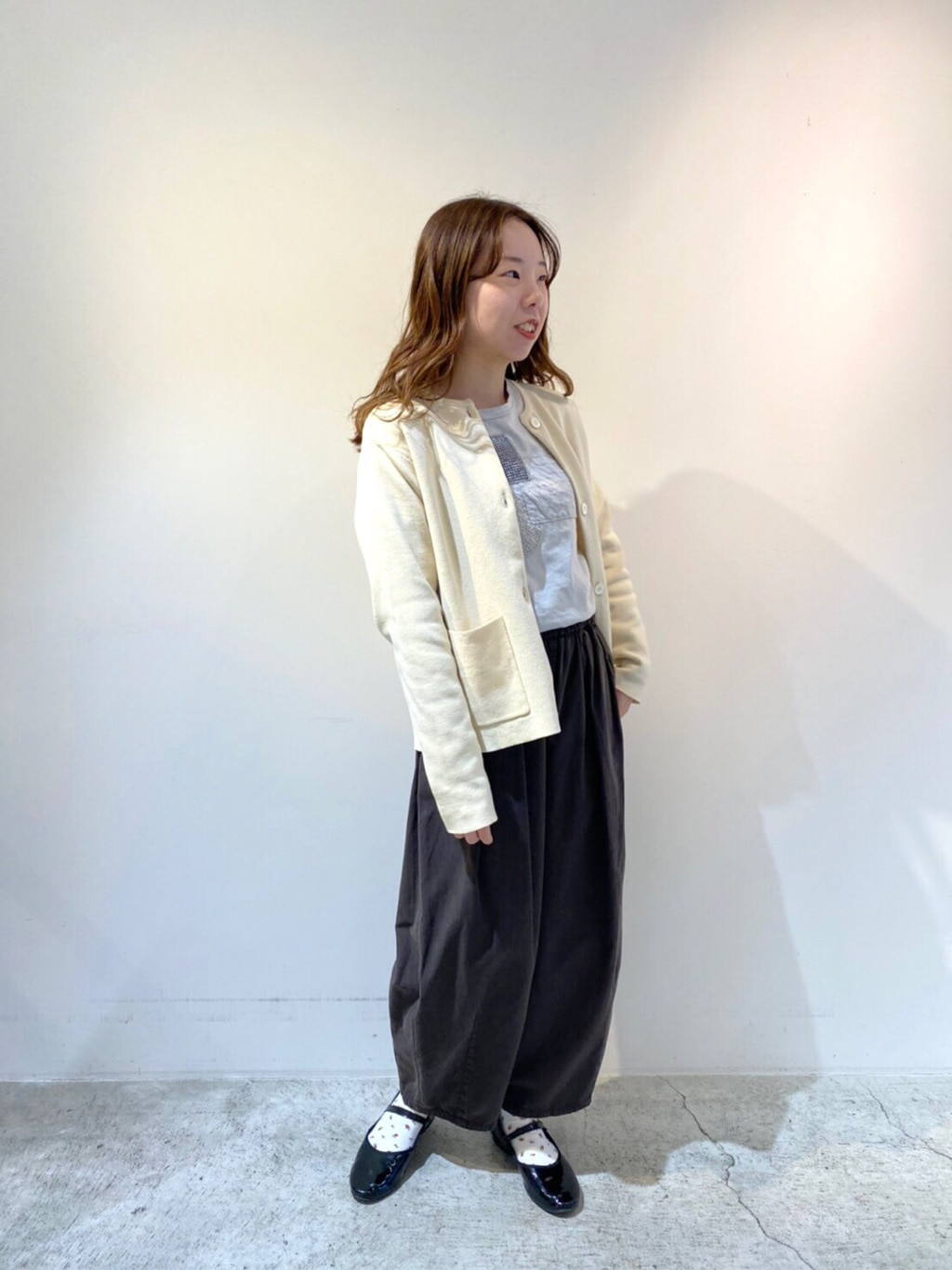 chambre de charme 京都路面 身長:155cm 2021.01.08