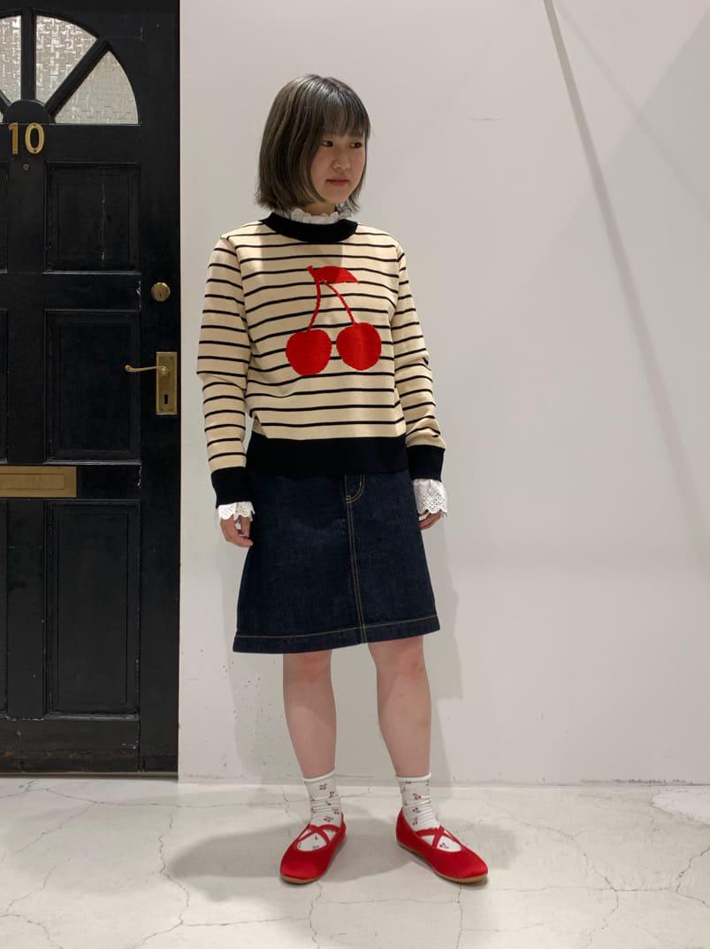 Dot and Stripes CHILD WOMAN ルクアイーレ 身長:151cm 2021.08.31