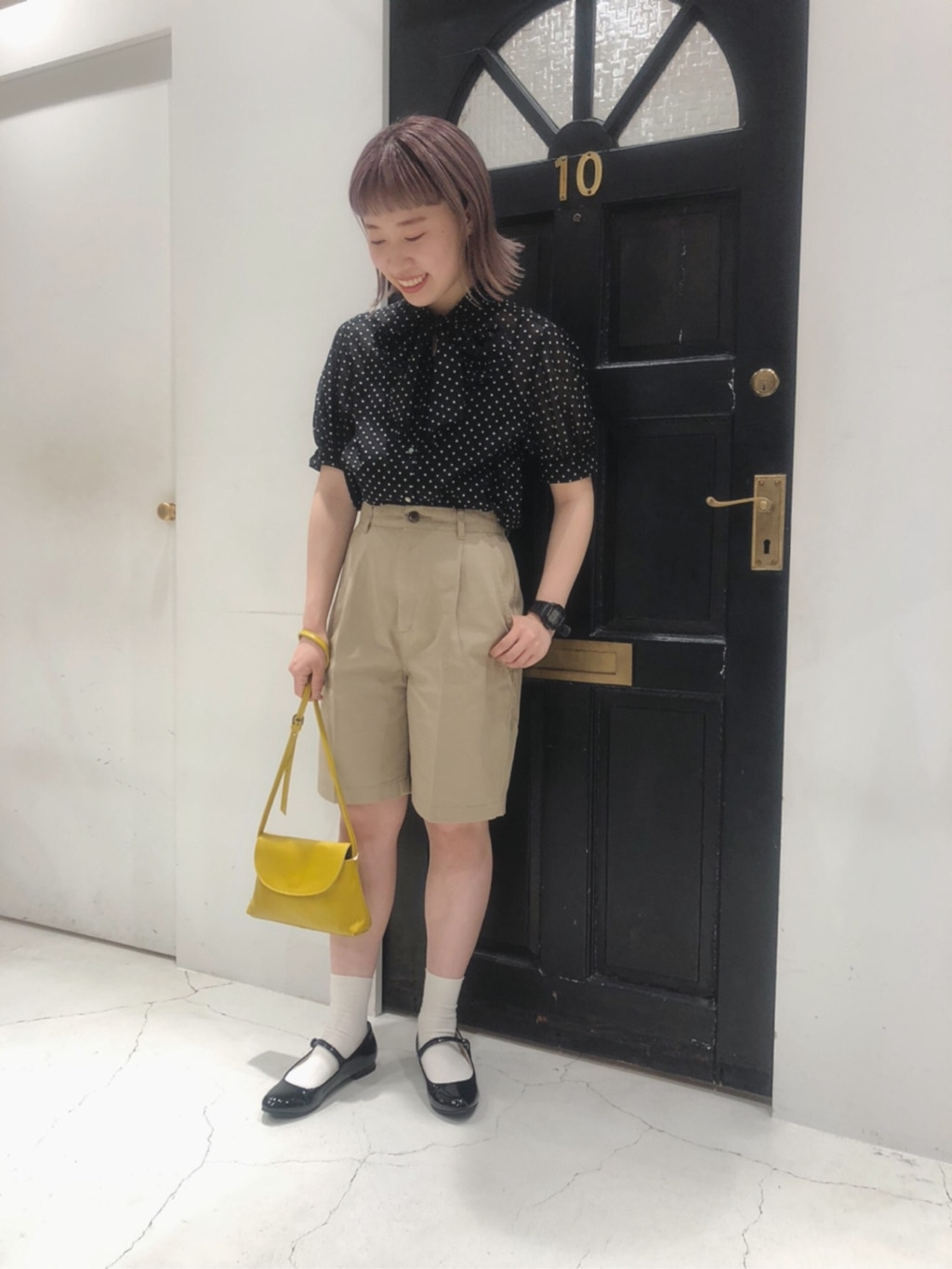 Dot and Stripes CHILD WOMAN ルクアイーレ 身長:157cm 2020.07.21