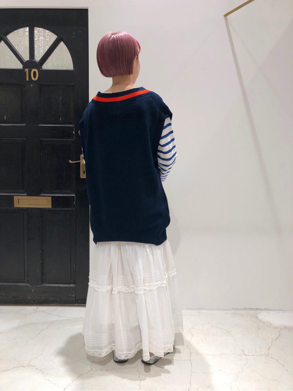 Dot and Stripes CHILD WOMAN ルクアイーレ 身長:157cm 2021.09.09