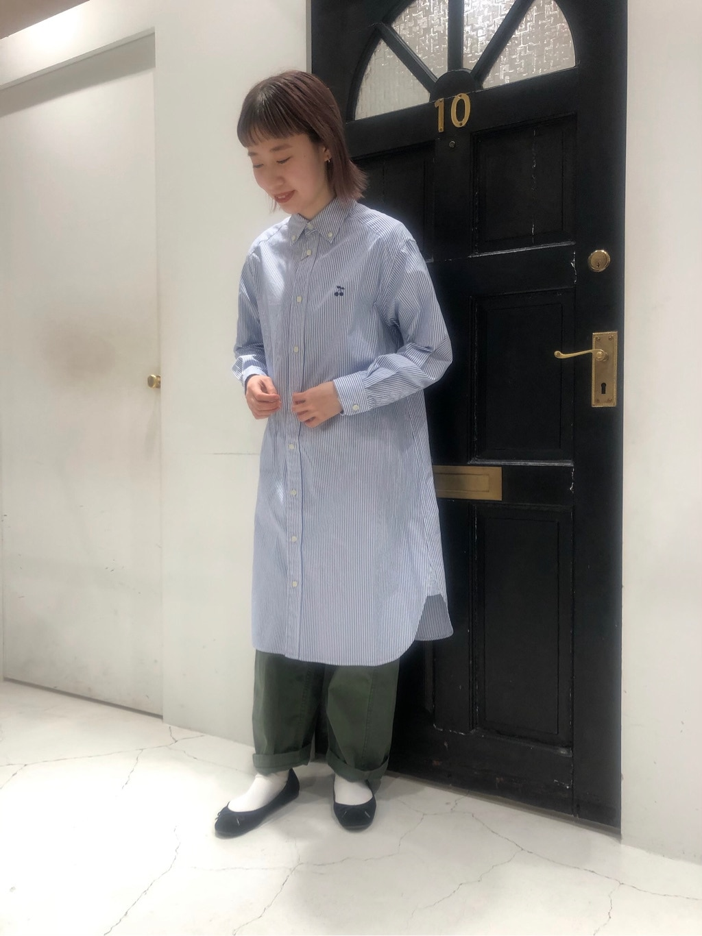 Dot and Stripes CHILD WOMAN ルクアイーレ 身長:157cm 2021.01.27